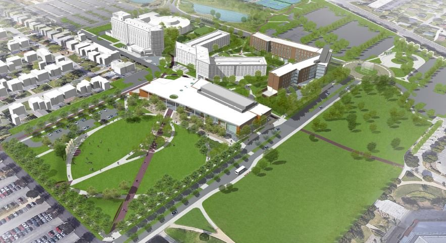 (rendering courtesy Ball State University)