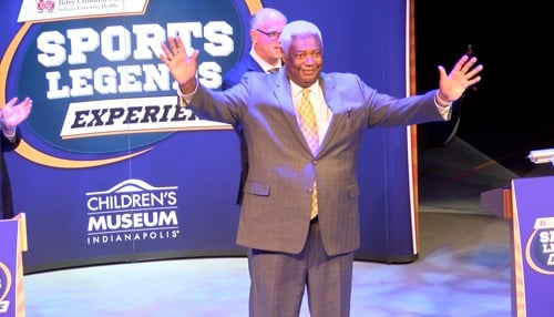 Oscar Robertson is one of the Sports Legends included in the attraction.