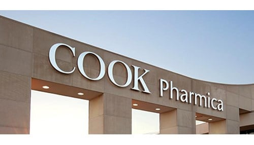 Cook Pharmica was founded in 2004