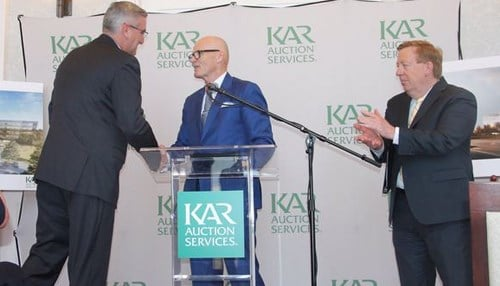 KAR Auction Services announced an $80 million expansion of its Carmel headquarters last month. (photo courtesy of the Indiana Economic Development Corp.)