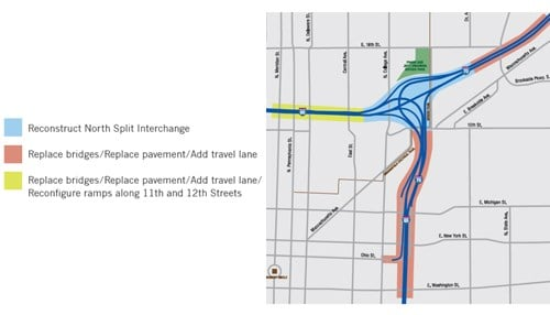 (Graphic courtesy of the Indiana Department of Transportation)