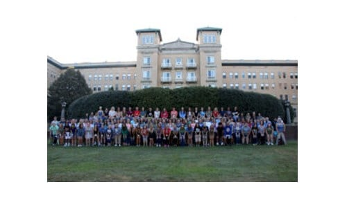 (Image of the Class of 2021 provided by Saint Mary-of-The-Woods College.)