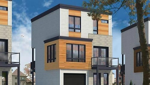 The eight detached, three-story homes will be in Kokomo's historic Near East Side neighborhood.