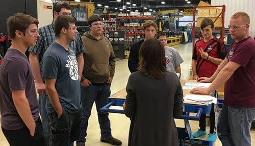 (Image of 2016 Manufacturing Day courtesy of Daman Products Company Inc. in Mishawaka.)