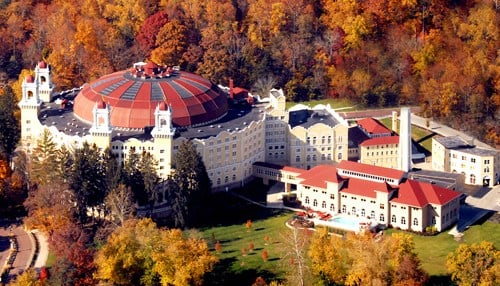 West Baden Springs Hotel is one of the Four Diamond hotels in Indiana.