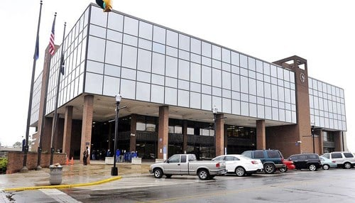 (Image of the Madison County Government Center courtesy of John Cleary with our partners at The Herald Bulletin.)
