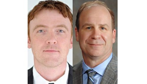 (Images of Dustin Smith [pictured left] and Kevin Page [pictured right] provided by Wabash National.)