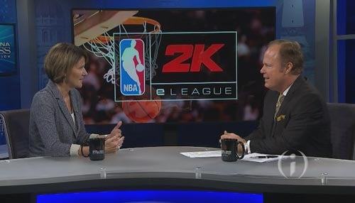 """Pacers Senior VP Kelly Krauskopf calls the esports league a """"groundbreaking"""" opportunity."""