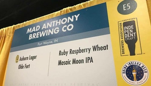 (Image of Great American Beer Festival Entries courtesy of Mad Anthony Brewing Co.)