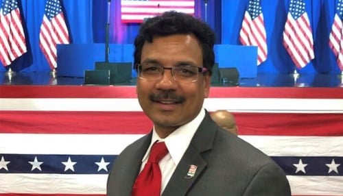 Raju Chinthala (photo courtesy Indiana India Business Council)