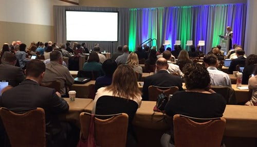 (Image of the Indiana Life Sciences Summit courtesy of BioCrossroads.)