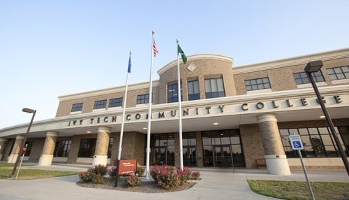 Ivy Tech says the company's commitment is for five years.