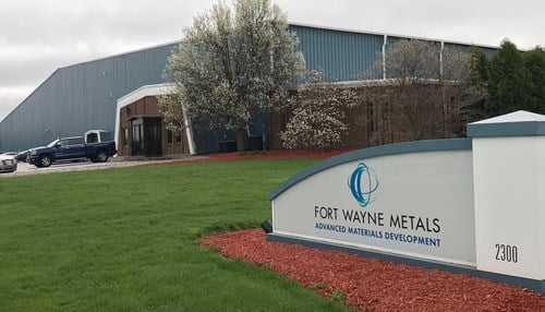 Picture Courtesy: Fort Wayne Metals