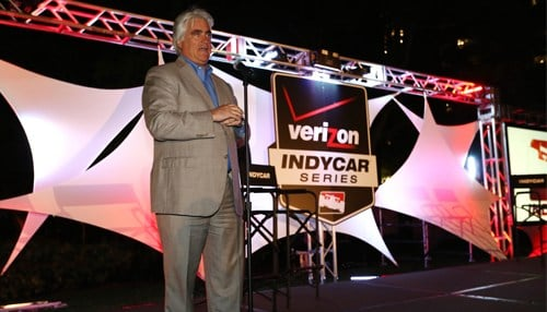 Hulman & Co. CEO Mark Miles at the Verizon IndyCar Series launch party in 2014. (photo courtesy INDYCAR)