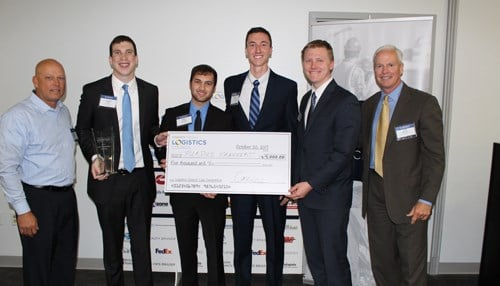 The Purdue team won a $5,000 cash prize for taking first place.