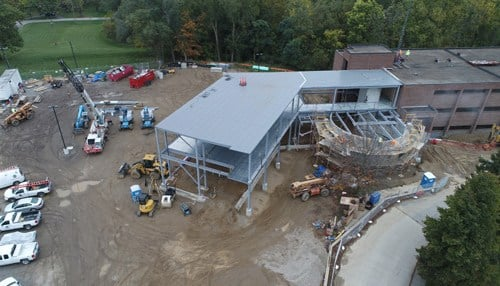 (Image courtesy of Grace College) The new science complex is set to be complete in the summer of 2018.
