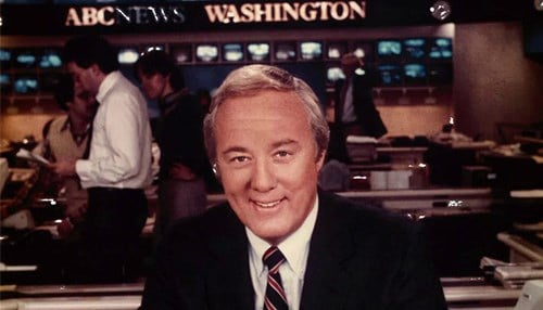 Pictured: Former ABC News anchor Steve Bell. Photo courtesy of Indiana Broadcasters Association.
