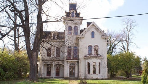 Image of Acorn Hall, built in the 1880s, courtesy of Indiana Landmarks.)