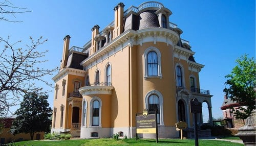 The Culbertson Mansion was constructed in 1867. (photo courtesy city of New Albany)