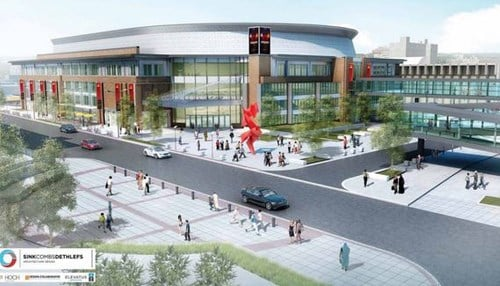 (Rendering provided by the city of Fort Wayne.)
