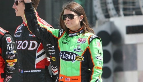 Patrick last raced in the Indy 500 in 2011. (photo courtesy INDYCAR)
