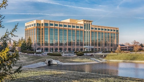 The new Liberty Mutual space will be in the Parkwood Crossing complex, which is owned and operated by central Indiana-based Strategic Capital Partners in partnership with Rubenstein Partners. (Image courtesy of SCP.)