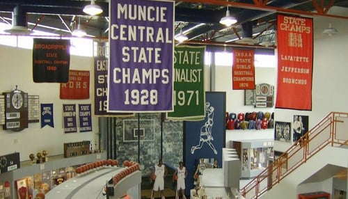 (Image courtesy of the Indiana Basketball Hall of Fame.)