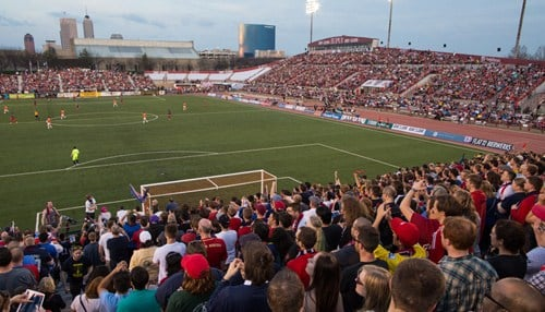 (Image of Carroll Stadium courtesy of the Indy Eleven.)