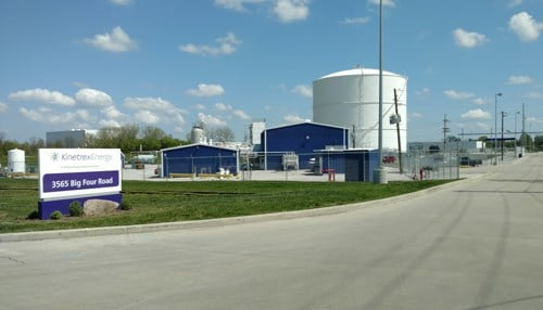 Kinetrex currently operates two Marion County plants, including one in Beech Grove (pictured).