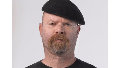 (Image of Jamie Hyneman courtesy of Twitter.)