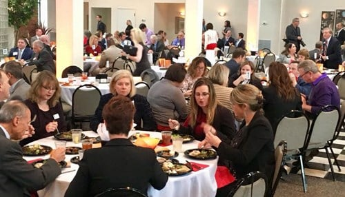 (Picture Courtesy: One Southern Indiana) The winners were honored Thursday at a luncheon in Jeffersonville in front of more than 250 attendees.