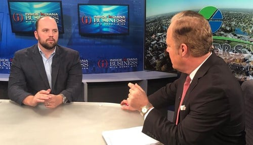 Scott Fadness spoke about his city's record year for economic development on Inside INdiana Business with Gerry Dick.