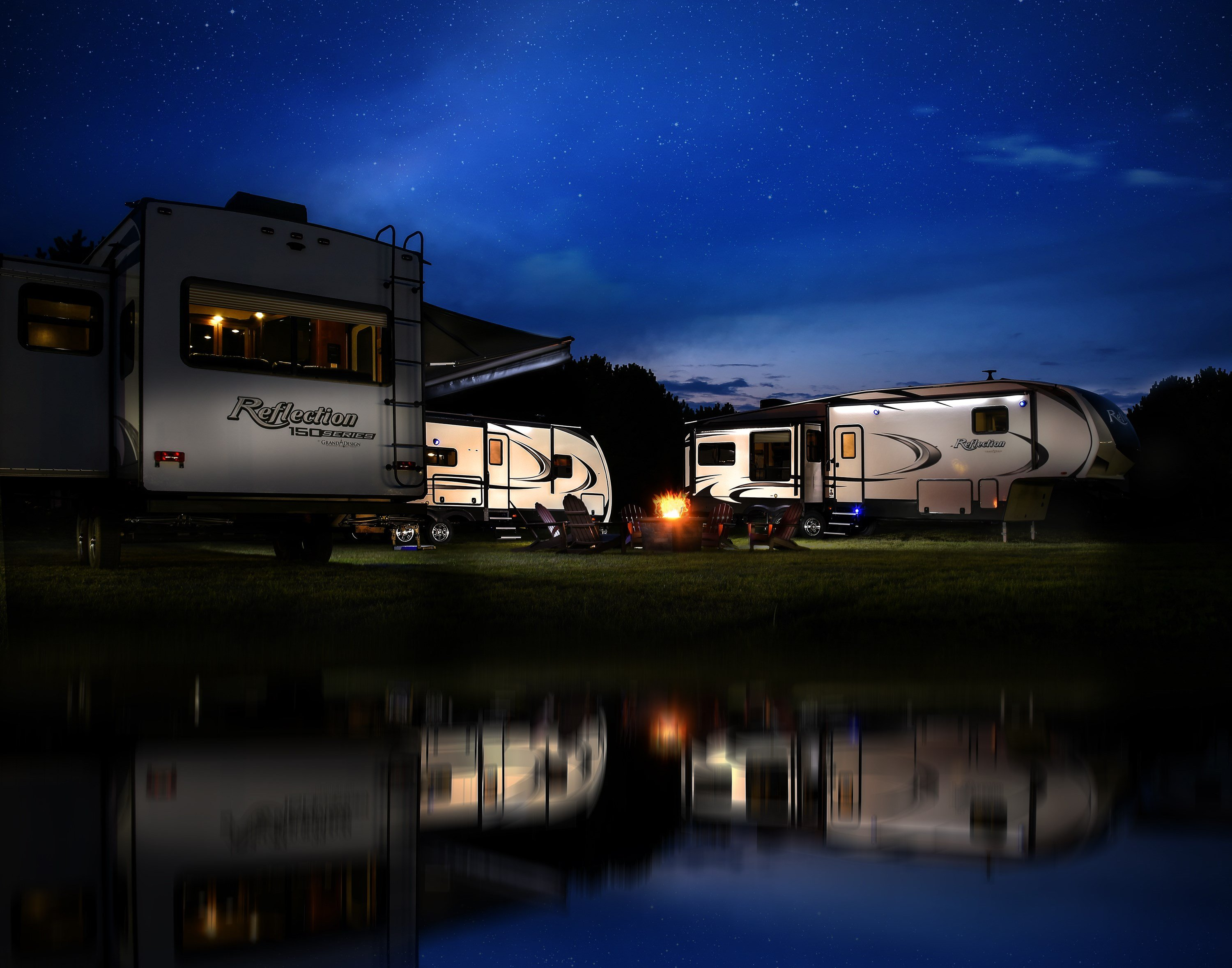 Just one of many to announce expansion plans in 2017, Middlebury-based Grand Design RV is building two new facilities and expects to add up to 450 jobs.