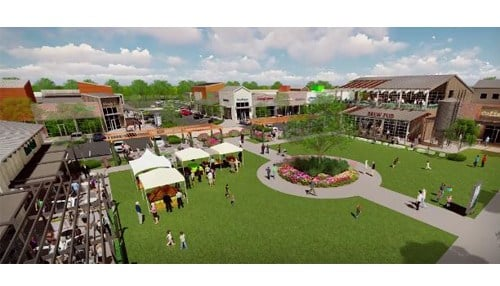(Rendering courtesy of the city of Fishers.)