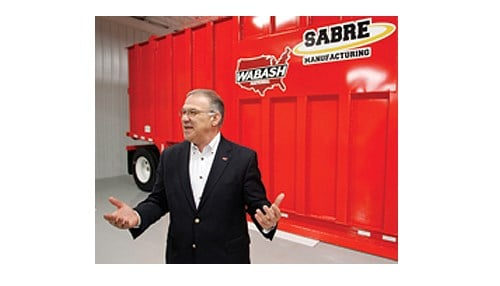 Dick Giromini has served as CEO of Wabash National for 11 years.
