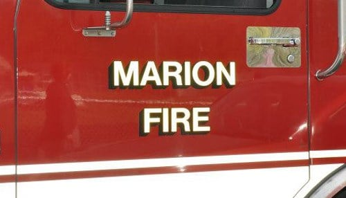 (Image courtesy of the Marion Fire Department.)