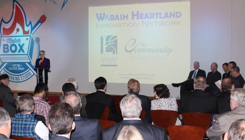 Details of the Wabash Heartland Innovation Network were unveiled Monday at MatchBOX Coworking Studio in Lafayette.
