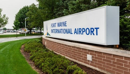 (Image courtesy of Fort Wayne International Airport.)