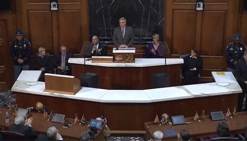 Ind. Gov. Holcomb delivers State of the State