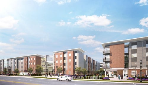 (Aspire at Discovery Park rendering courtesy of Balfour Beatty.)