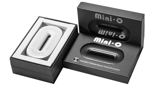 The company is working on launching its first product, the Mini-O; a credit card-sized Bluetooth speaker.