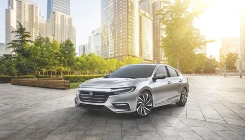 The 2019 Honda Insight is being produced at Honda Manufacturing of Indiana in Greensburg.