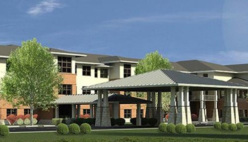 (Rendering of Hellenic Senior Living of Indianapolis courtesy of Gardant.)