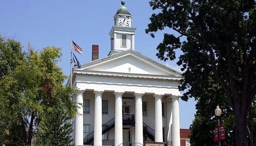 Orange County is home to the towns of French Lick, West Baden, Orleans and Paoli, which is the county seat.
