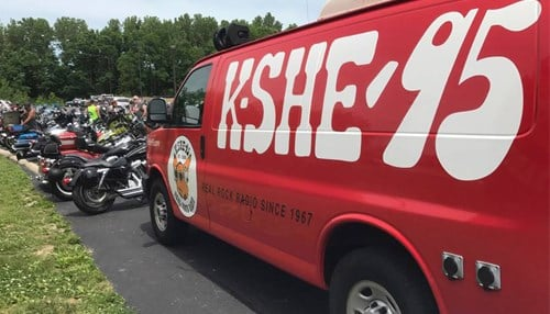 (Image courtesy of KSHE) KSHE is a more than 50 year-old rock-and-roll station in St. Louis.