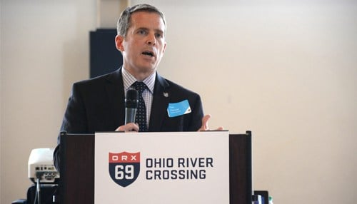 Dan Prevost, environmental lead for I-69 ORX, will speak at Wednesday's announcement.