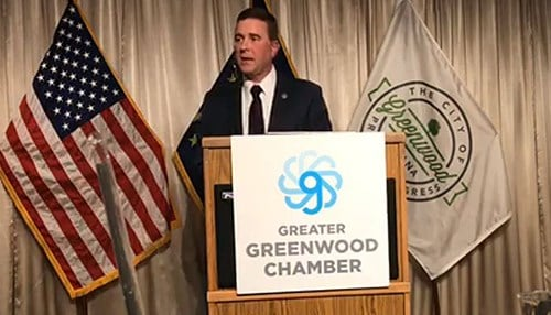 Greenwood Mayor Mark Myers announced the partnership during his State of the City address.
