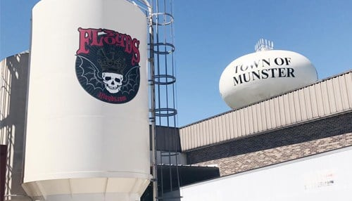 3 Floyds is headquartered in Munster.