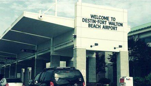 (Image courtesy of the Destin-Fort Walton Beach Airport.)