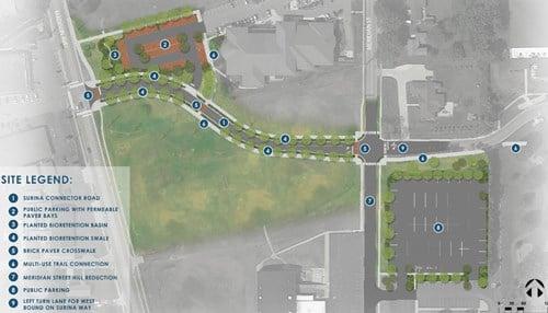 The RDC approved a $3.7 million contract for the connector road.
